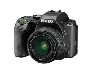 Pentax K-S2 czarny  + ob. 18-50 WR + 50-200WR