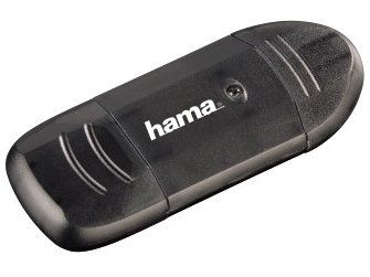 Hama USB 2.0 Cardreader 6w1 czarny