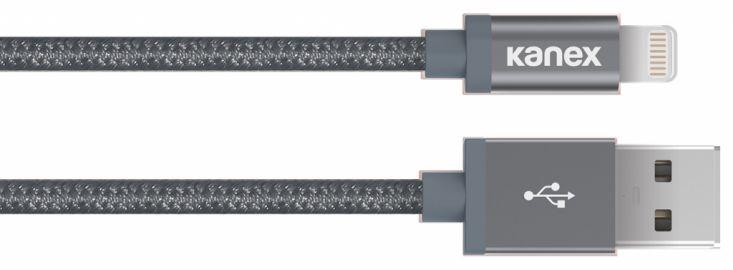Kanex Kabel MFi ze złączem Lightning szary 1.2 metra