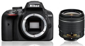 Nikon D3400 + ob. 18-55mm f/3.5-5.6G + ob. 70-300 AF-P G ED - Cashback 215zł