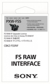 Sony Upgrade RAW do Sony FS5