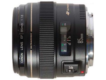Canon 85 mm f/1.8 EF USM - Cashback 215 zł przy zakupie z aparatem!