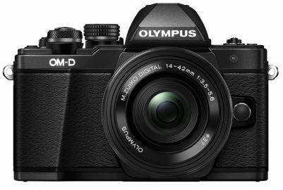 Olympus OM-D E-M10 Mark II + ob. 14-42 EZ + ob. 40-150 czarny