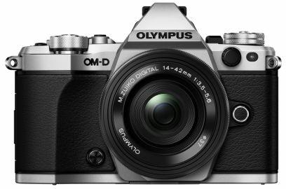 Olympus OM-D E-M5 Mark II srebrny+ ob. 14-42 EZ czarny