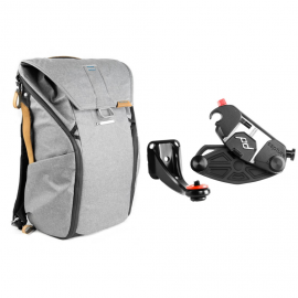 Peak Design Zestaw Plecak Everyday Backpack 20L popielaty + Bino Kit