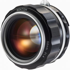 Voigtlander NOKTON 58 mm f/1.4 SL IIs / Nikon F srebrny