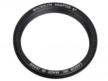 Canon Macro Ring Lite 67 adapter