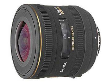 Sigma 4.5 mm f/2.8 DC EX HSM rybie oko / Sony A