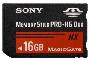 Sony Memory Stick PRO-HG Duo HX 16GB 50MB/s