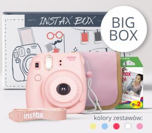 FujiFilm INSTAX BIG BOX 2017 różowy
