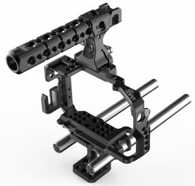 8sinn klatka do Sony A6300, Top Handle Pro, Universal Rod Support
