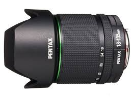 Pentax 18-135 mm f/3.5-f/5.6 DA AL ED (IF) DC WR