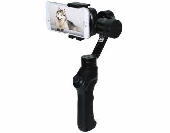 Big Balance Husky 3M - 3-osiowy kardanowy stabilizator obrazu do smartfonów i GoPro