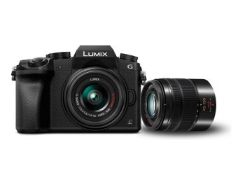 Panasonic Lumix DMC-G7 + ob. 14-42 + 45-150 czarny
