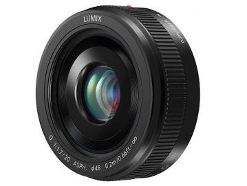 Panasonic LUMIX G 20 mm f/1.7 II ASPH czarny