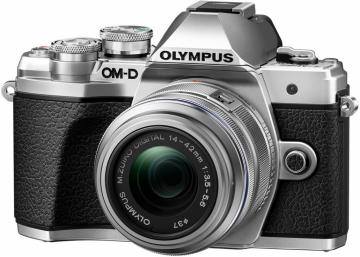 Olympus OM-D E-M10 Mark III + ob. 14-42 II R srebrny