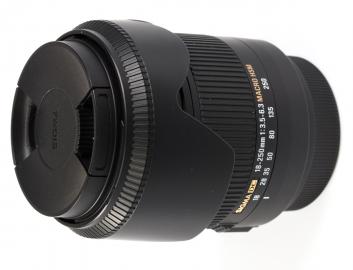 Sigma 18-250 mm f/3.5-f/6.3 DC HSM Macro / Sony - powystawowy