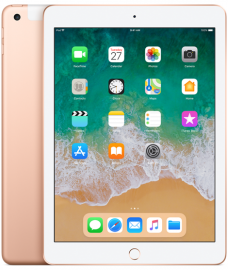 Apple iPad Wi-Fi + Cellular 128GB (2018) złoty
