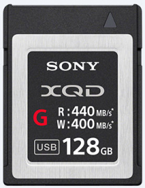 Sony XQD G 128GB 440 mb/s