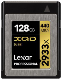 Lexar 128GB x2933 Pro XQD + Czytnik Pro XQD 2.0 USB 3.0