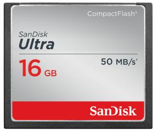 Sandisk CompactFlash ULTRA 16 GB 50MB/s