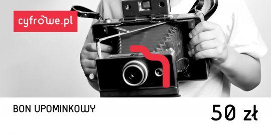 Bony Cyfrowe.pl - bon upominkowy o wartości 50 zł