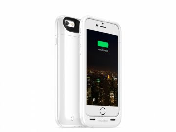 Mophie Juice Pack Plus - zewnętrzna bateria (3300mAh) wraz z obudową do iPhone 6/6s (kolor biały)