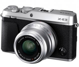 FujiFilm X-E3 + ob. 23 mm f/2.0 srebrny + pokrowiec gratis