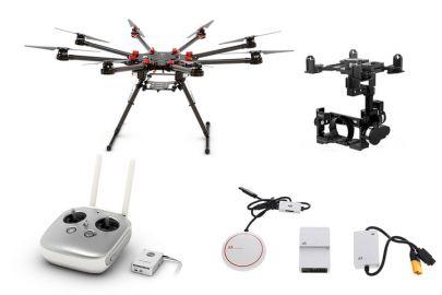 DJI Octocopter S1000 + kontroler lotu A2 DJI GPS + Gimbal Z15 (A7)
