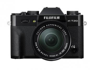 FujiFilm X-T20 + 16-50 mm czarny