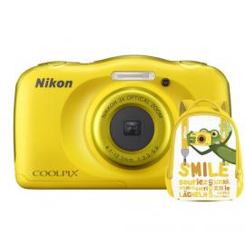 Nikon COOLPIX W100 żółty + plecak