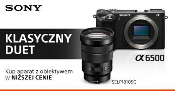 Sony A6500 + ob. E 18-105 mm f/4.0 G