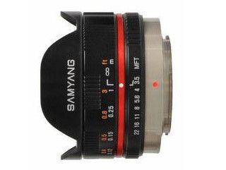 Samyang 7.5 mm f/3.5 UMC Fish-eye / micro 4/3 czarny