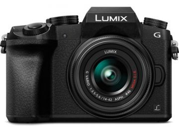 Panasonic Lumix DMC-G7 + ob. 14-42 czarny