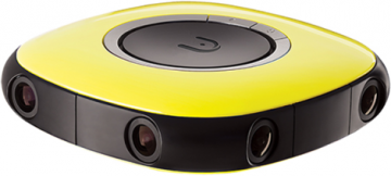 Vuze Kamera 360 stopni żółta