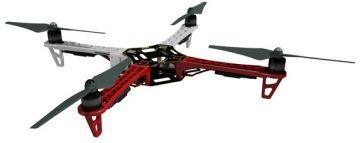 DJI Dron quadrocopter F450 + Naza-M Lite + GPS + E305 + podwozie