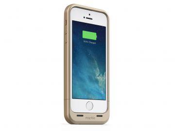 Mophie Juice Pack Air (kolor złoty) - zewnętrzna bateria (1700 mAh) wraz z obudową do iPhone 5/5S/SE