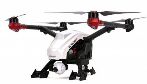 Walkera Dron Voyager 3 z gimbalem dla kamery Walkera Full HD, Devo F12E - bez kamery