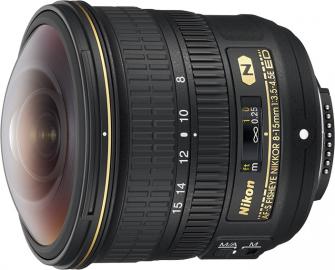 Nikon Nikkor 8-15mm f/3.5-4.5E AF-S ED FISHEYE