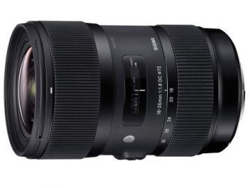 Sigma A 18-35 mm F1.8 DC HSM/Nikon