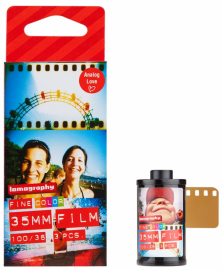 Lomography COLOR NEGATIVE 100 ISO 3 PCS 135 FILM