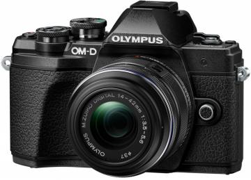 Olympus OM-D E-M10 Mark III + ob. 14-42 II R czarny