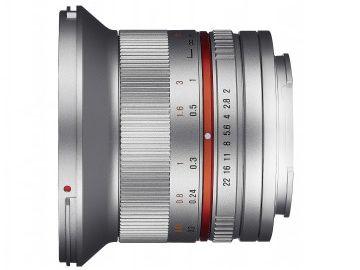 Samyang 12 mm f/2.0 NCS CS / Fujifilm X srebrny
