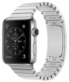 Apple Watch Series 2 38mm ze stali nierdzewnej z bransoletą panelową