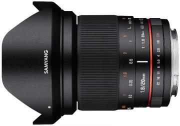 Samyang 20 mm f/1.8 / Sony E
