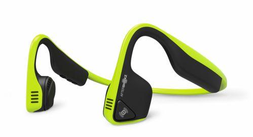 Aftershokz Słuchawki Trekz Titanium z technologią przewodnictwa kostnego neon