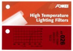 Fomei Filtr kolorowy HT-026 BRIGHT RED 61 x 53 cm