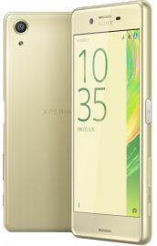 Sony Xperia X lime-gold
