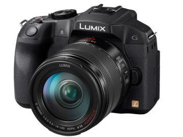 Panasonic Lumix DMC-G6H + ob. 14-140 POWER O.I.S. czarny
