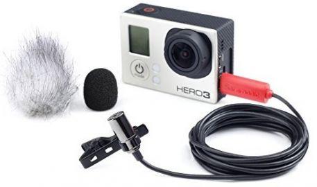 Saramonic Mikrofon SR-GMX1 - do GoPro Hero 3+/3